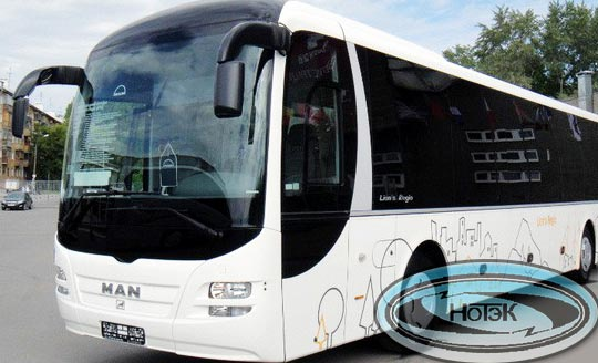 Штабной автобус MAN LION'S COACH